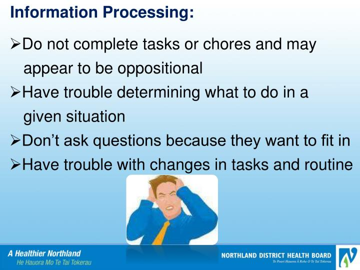 Information Processing: