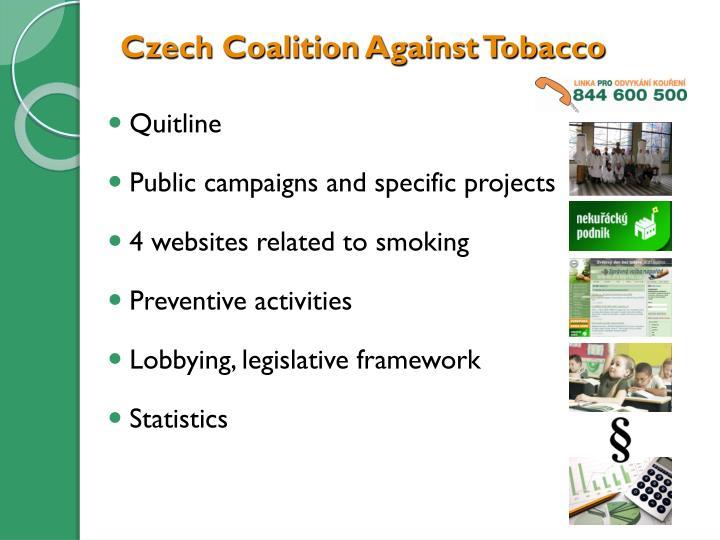 Czech coalition against tobacco1