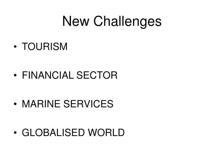 New Challenges