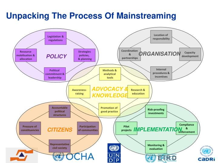 Unpacking The Process Of Mainstreaming