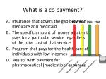 what is a co payment