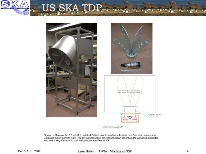 Lynn Baker      DVA-1 Meeting at NSF