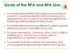 goals of the bpa and bpa grants