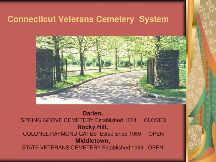 Connecticut Veterans Cemetery  System