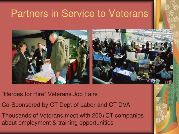Partners in Service to Veterans