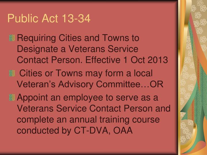 Public act 13 34