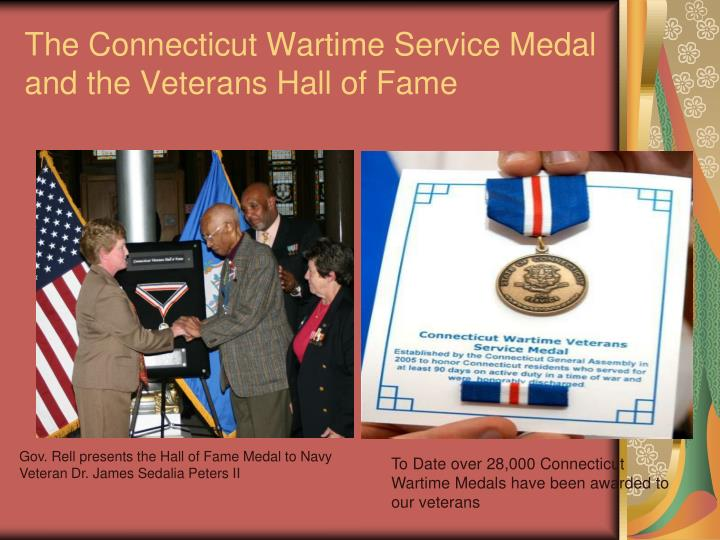 The Connecticut Wartime Service Medal