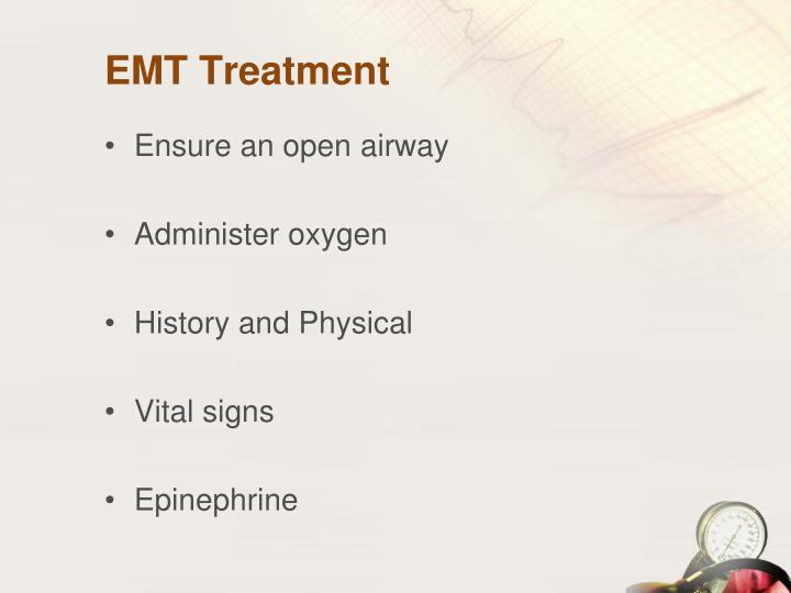 EMT Treatment