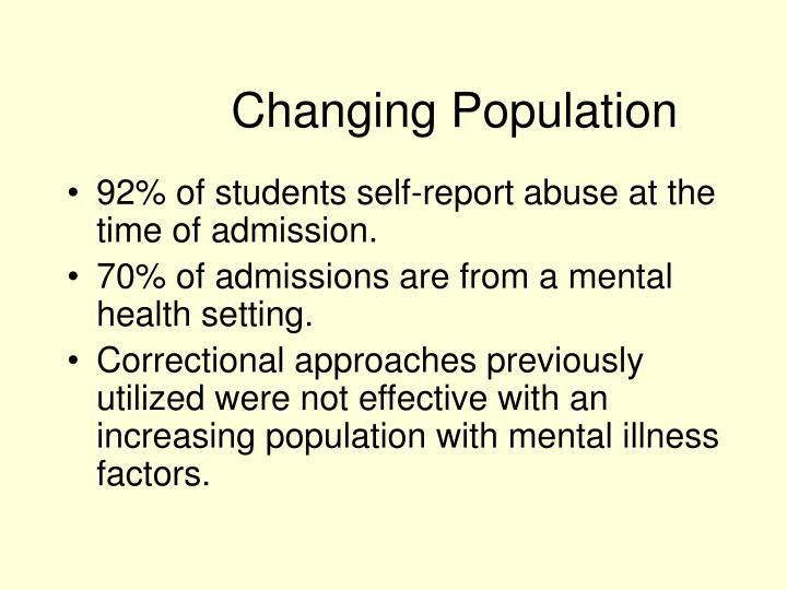 Changing Population