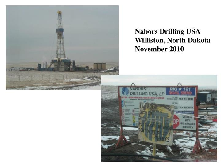 Nabors Drilling USA