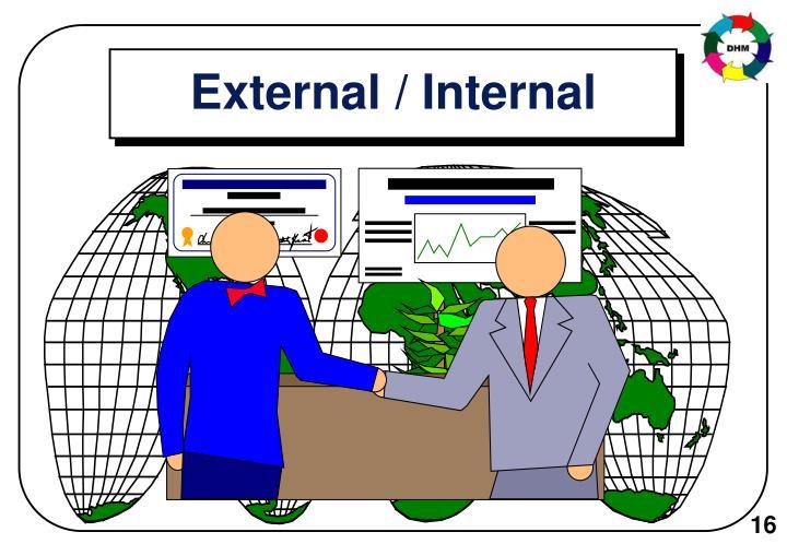 External / Internal