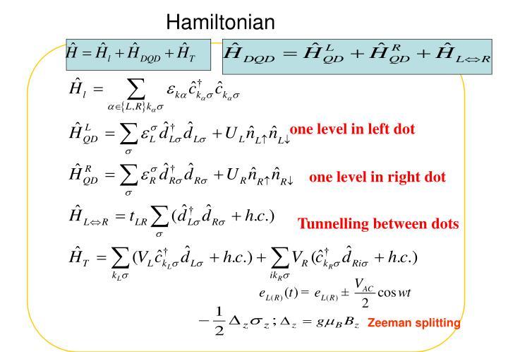 Hamiltonian
