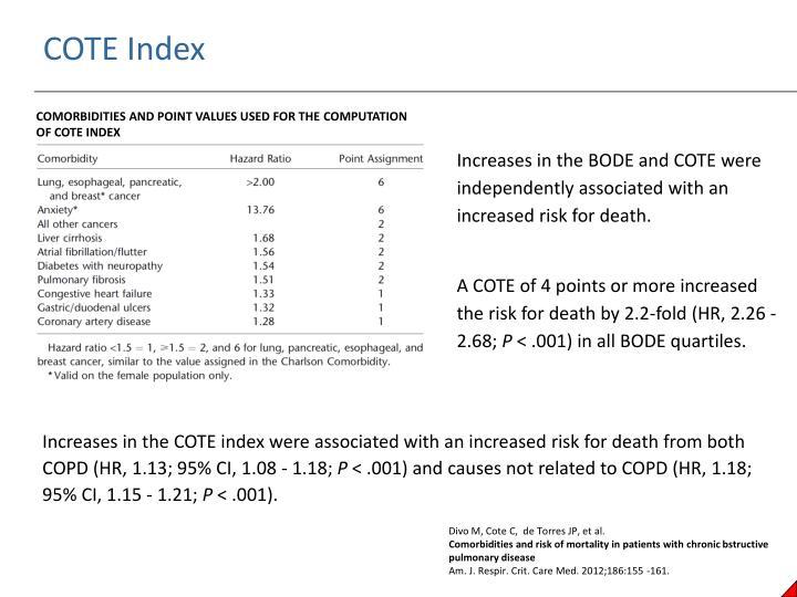 COTE Index