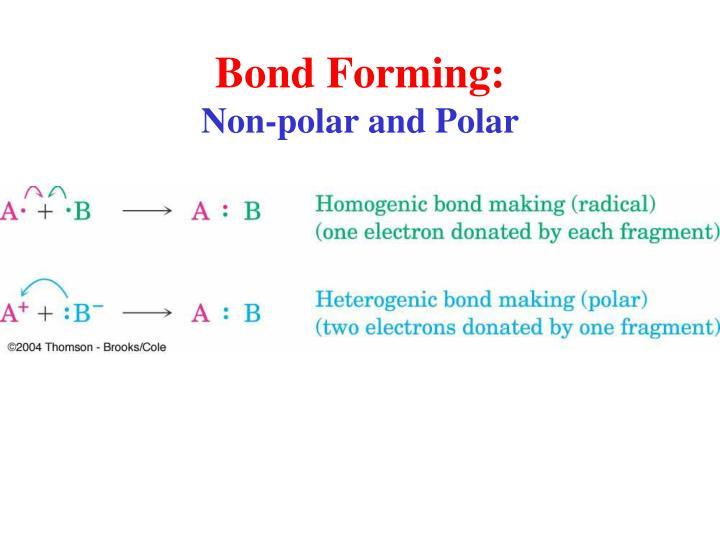Bond Forming: