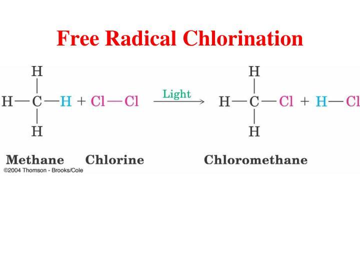 Free Radical Chlorination