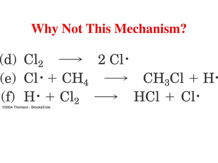 Why Not This Mechanism?