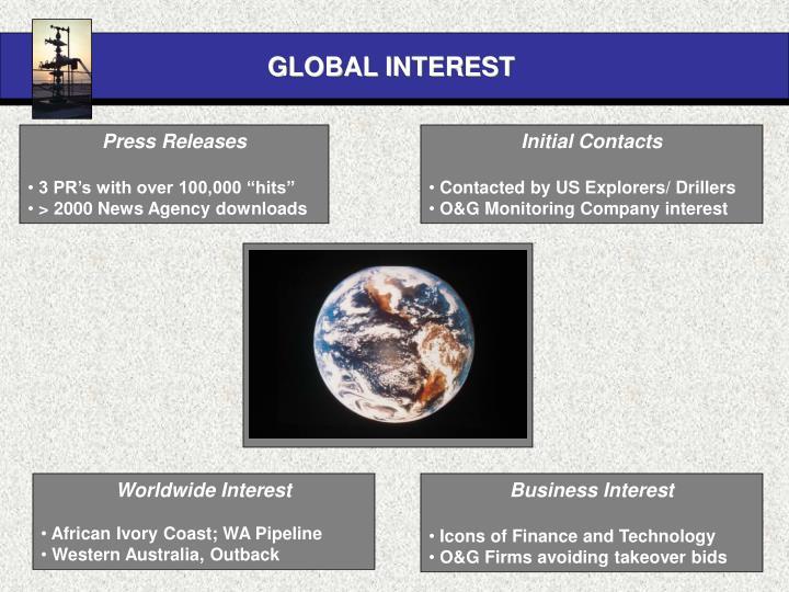 GLOBAL INTEREST