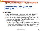 spekulasi dengan short straddle1