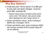why buy options