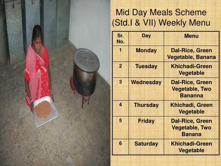 Mid Day Meals Scheme