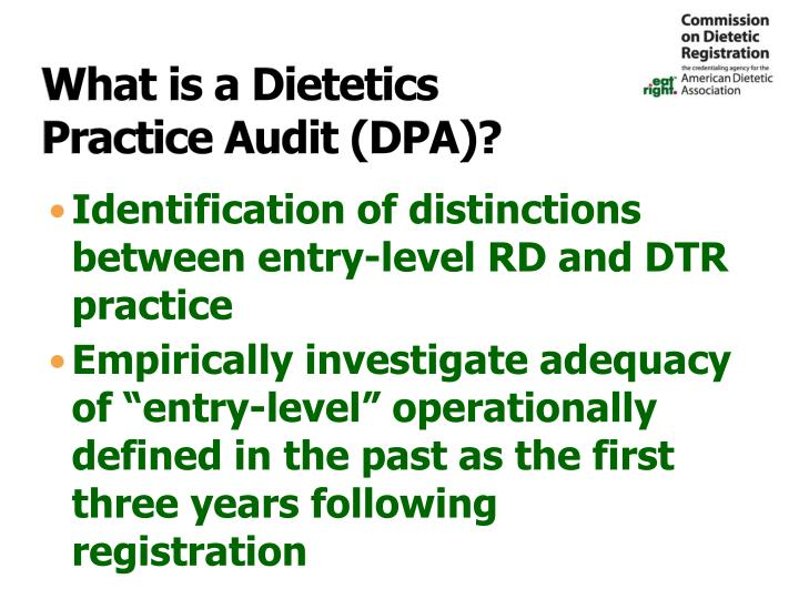 What is a Dietetics