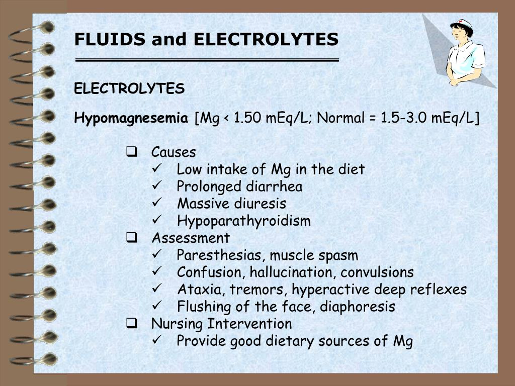 PPT - FLUIDS and ELECTROLYTES PowerPoint Presentation - ID