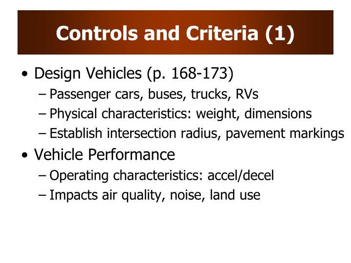 Controls and Criteria (1)