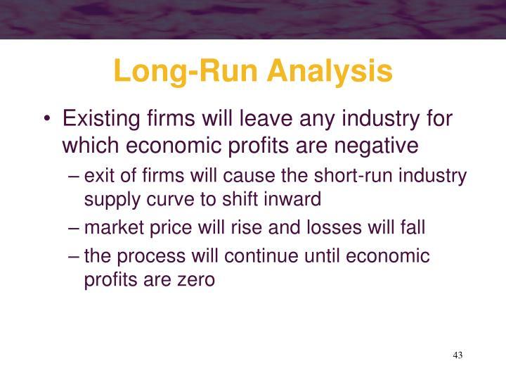 Long-Run Analysis