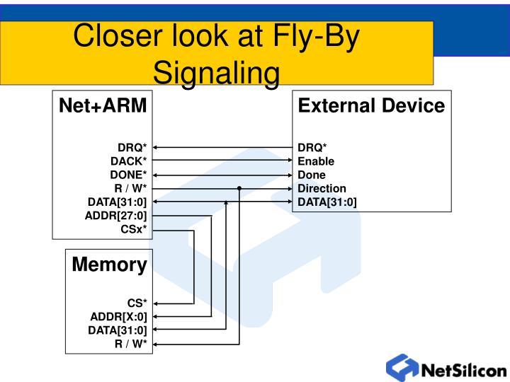 Closer look at Fly-By Signaling