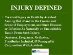 injury defined
