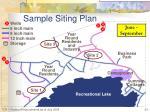 sample siting plan4