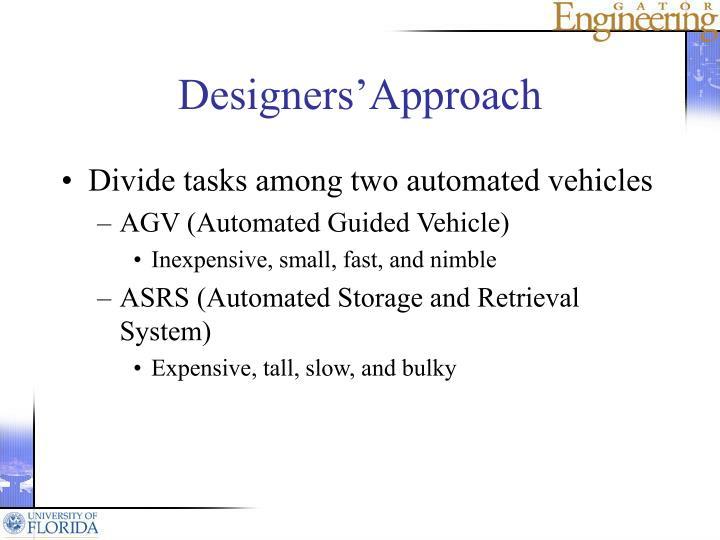 Designers'Approach