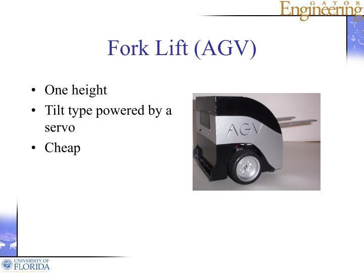 Fork Lift (AGV)