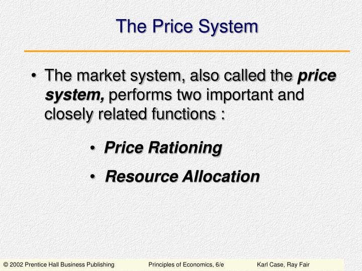 the price system n.