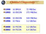 channel connectivity2