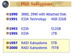 disk subsystems2