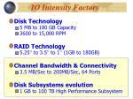 io intensity factors1