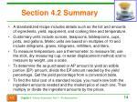 section 4 2 summary