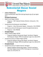 sekretariat dasar sosial negara