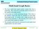 multi bond graph basics