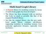 multi bond graph library