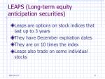 leaps long term equity anticipation securities