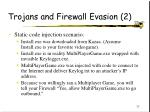 trojans and firewall evasion 2