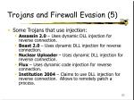trojans and firewall evasion 5