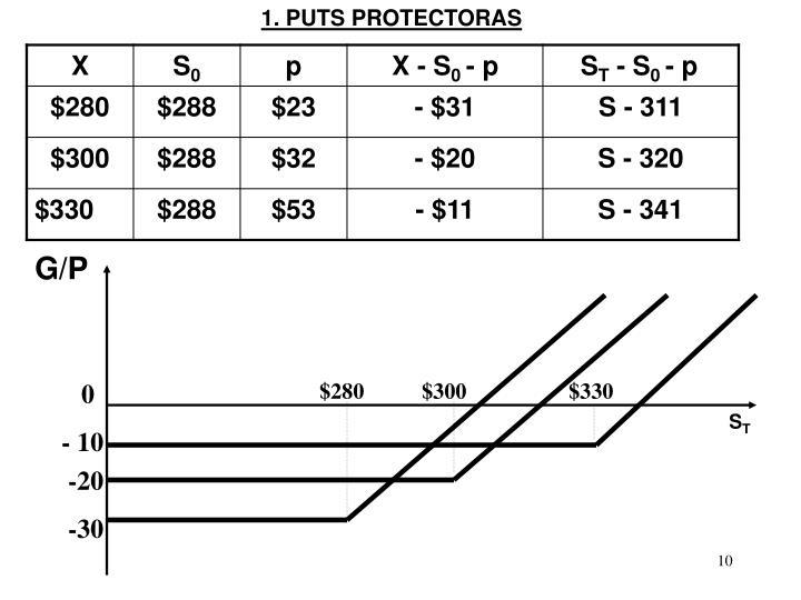 1. PUTS PROTECTORAS