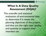 what is a data quality assessment dqa