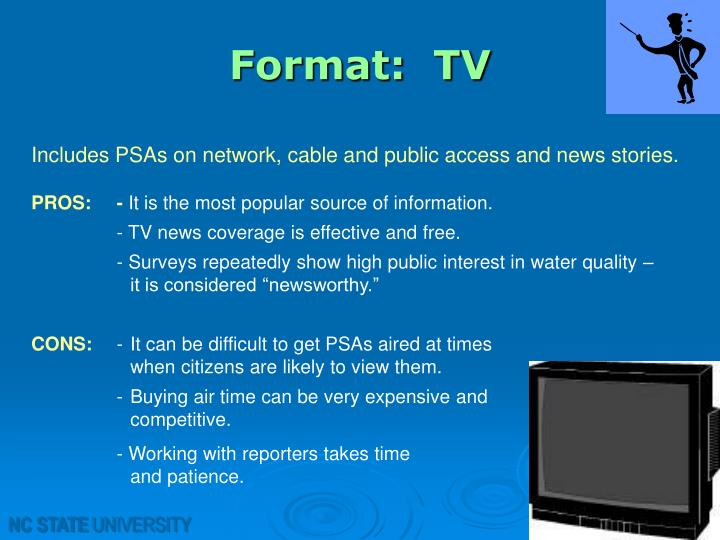 Format:  TV