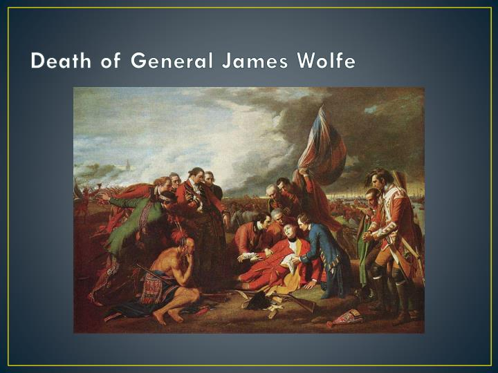 Death of General James Wolfe