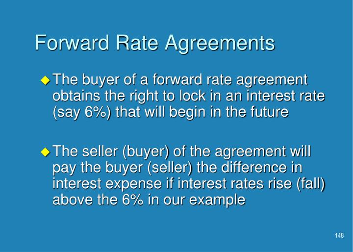Forward Rate Agreements