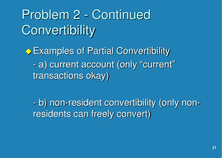 Problem 2 - Continued